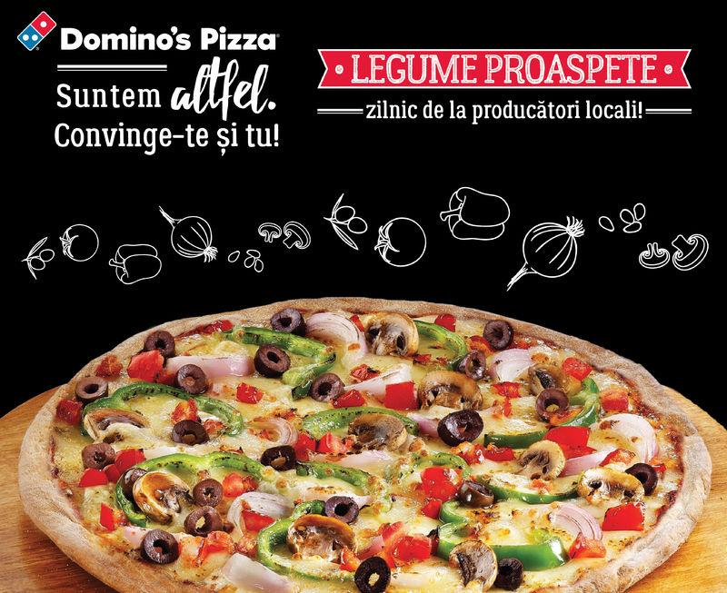La Domino's, nu te lăsăm
