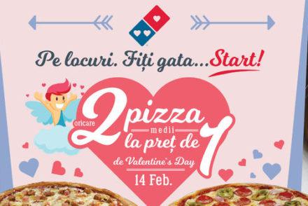 Ofertă Domino's Pizza de Valentine's Day
