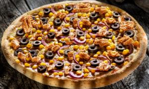 pizza cu ton