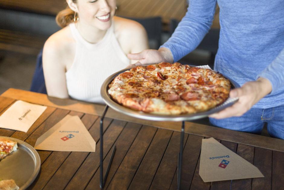 pizza la cină